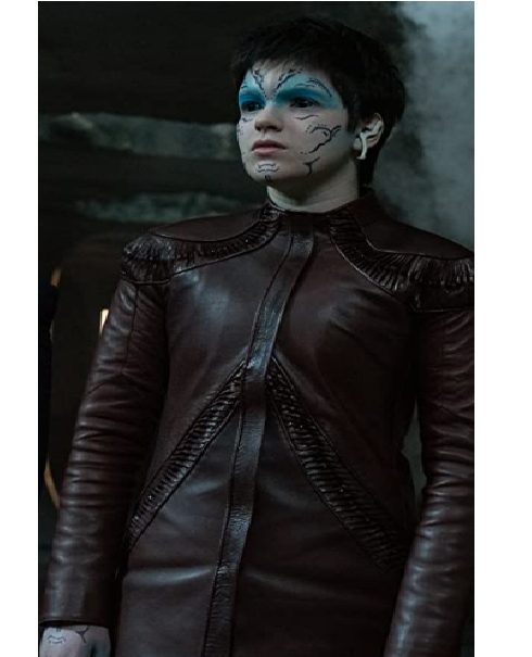 Blu Del Barrio TV Series Star Trek Discovery Adira Brown Leather Jacket