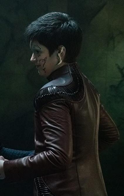 Star Trek Discovery Blu Del Barrio Brown Jacket