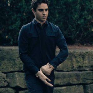Nick Blaine TV Series The Handmaids Tale Max Minghella Black Cotton Jacket