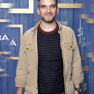 Owen The Night House 2021 Evan Jonigkeit Brown Cotton Jacket