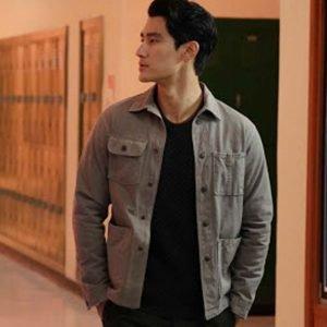Alex Landi TV Series Walker 2021 Bret Cotton Jacket