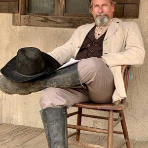 Paul Thomas Arnold Wild West Chronicles Beige Blazer Jacket