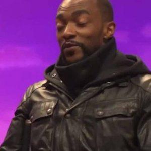 Anthony Mackie Altered Carbon S02 Takeshi Kovacs Black Leather Jacket