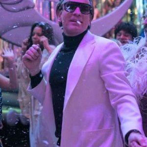 Ewan McGregor Halston 2021 White Blazer Jacket