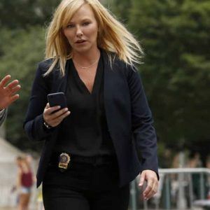 Kelli Giddish TV Series Law and Order: Special Victims Unit Black Blazer