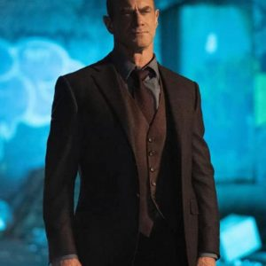 Christopher Meloni TV Series Law and Order: Organized Crime Black Blazer