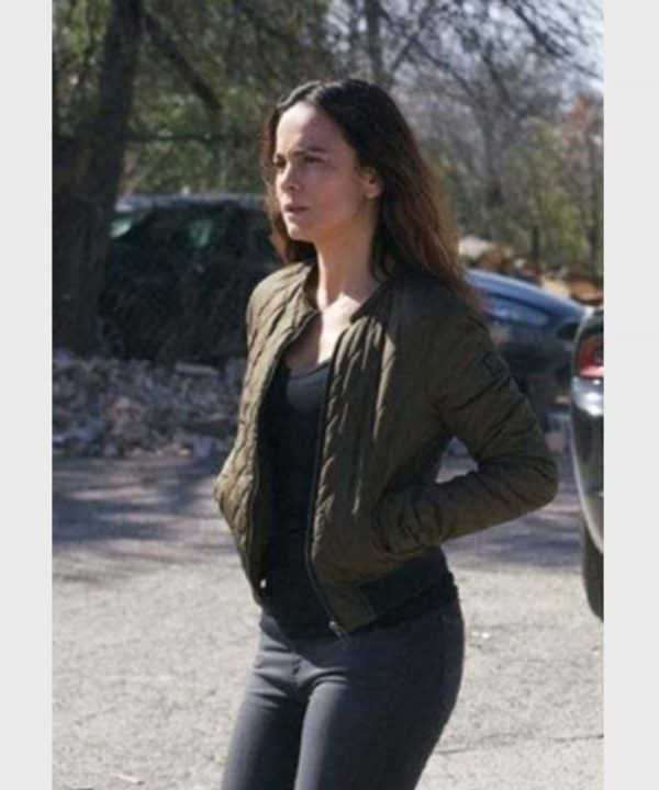 Alice Braga Queen of the South S03 Teresa Mendoza Quilted Bomber Jacket
