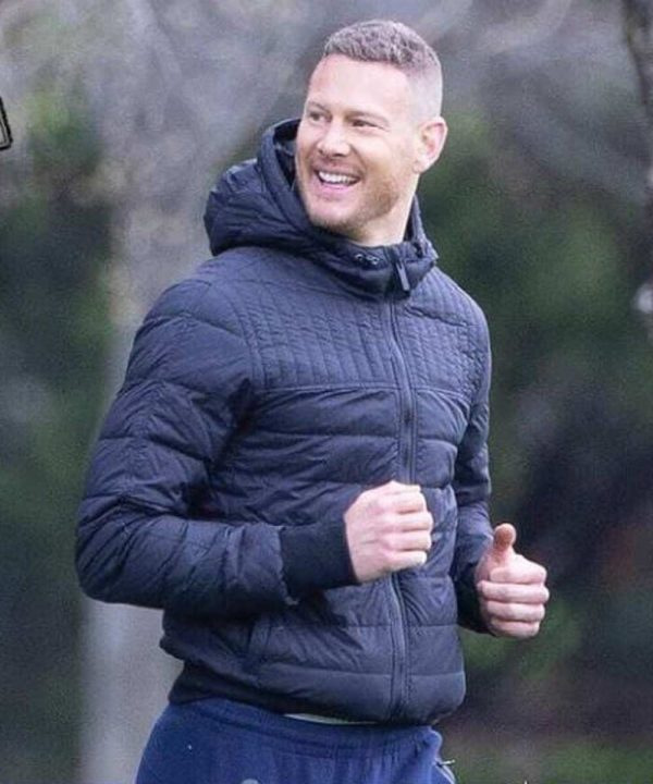 Tom Hopper The Umbrella Academy S03 Luther Hargreeves Puffer Hooded Jacket