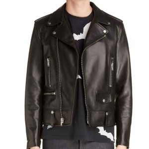 Nico Tortorella Younger Season 07 Josh Black Leather Jacket