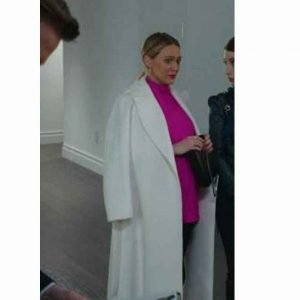 Kelsey Peters Younger S07 Hilary Duff White Coat