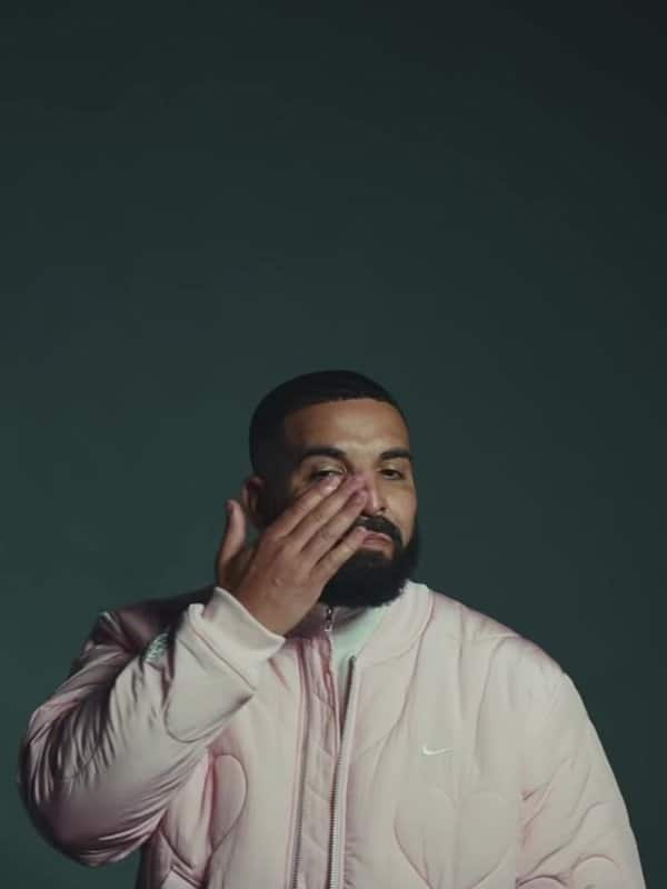 Now Cry Later Drake Pink Varsity Jacket