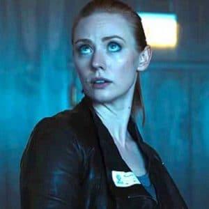 Deborah Ann Woll Escape Room Black Leather Jacket
