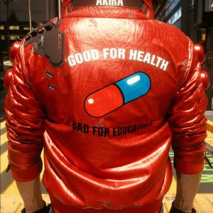 Akira Kaneda Cyberpunk 2077 Red Capsule Jacket