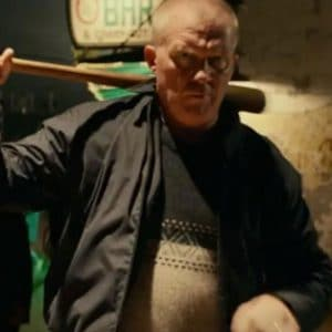 Anthony Michael Hall Halloween Kills 2021 Black Cotton Jacket
