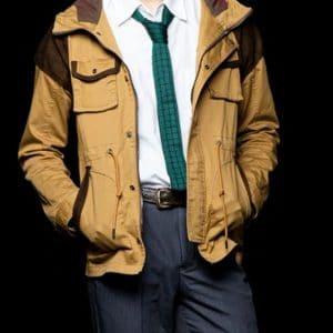 Fugou Keiji Balance Haru Kato Brown Cotton Jacket
