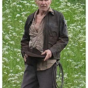 Harrison Ford Indiana Jones 5 Brown Cotton Jacket