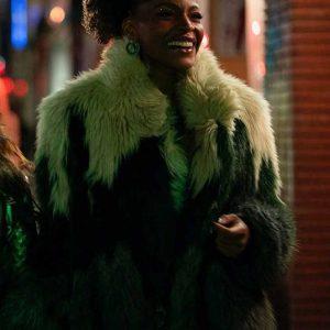Sasha Snow TV-Series Sex/Life 2021 Fur Coat