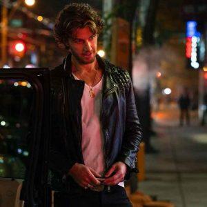 Adam Demos Sex/Life 2021 Brad Simon Leather Jacket