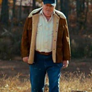 Merril Stranger Things Fenton Lawless Brown Suede Leather Jacket