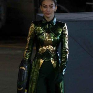 Efrat Dor The Flash Season 07 Mirror Master Trench Coat