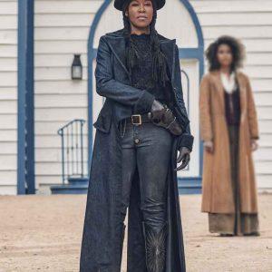 Regina King The Harder They Fall 2021 Trudy Smith Coat
