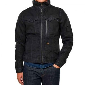 Ian Duff The Republic of Sarah Black Cotton Jacket