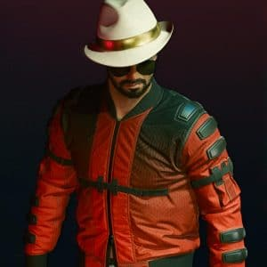 Johnny Silverhand Cyberpunk 2077 Red Bomber Second Conflict Flight Jacket