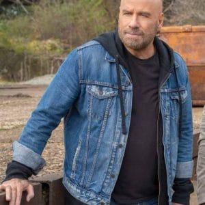 Ron Wilcox Blue Denim TV Series Die Hart Jacket