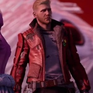 Peter Quill Video Game Guardian of the Galaxy Star-Lord Gaming Jacket
