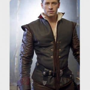 Josh Dallas TV Series Once Upon a Time Leather Jacket