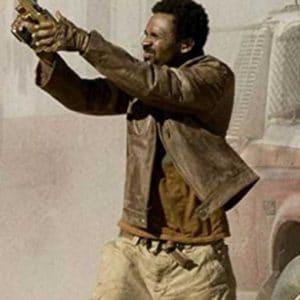 Mike Epps Resident Evil Extinction L.J Brown Leather Jacket