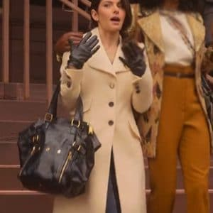Billie Connelly Sexlife Sarah Shahi MId-Length Coat