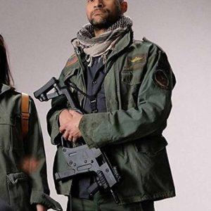 Keegan-Michael Key Green The Predator Coyle Cotton Jacket