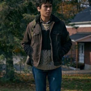 Forrest Goodluck The Republic of Sarah 2021 Brown Cotton Jacket