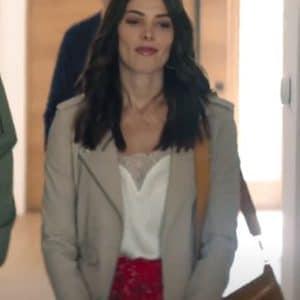 Natalie Dadich Aftermath 2021 Grey Cotton Jacket