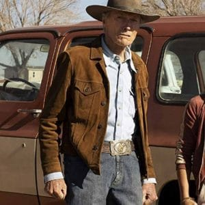 Clint Eastwood Cry Macho 2021 Miko Brown Suede Leather Jacket