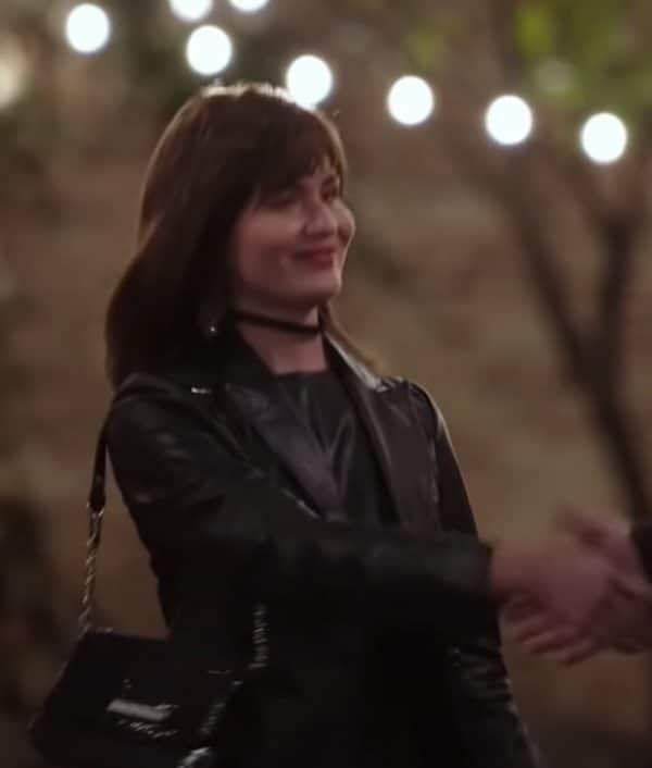 Phillipa Soo TV Series Dopesick 2021 Amber Leather Jacket