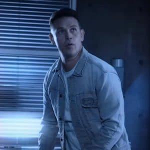 Kevin Alejandro Lucifer S06 Dan Espinoza Blue Denim Jacket