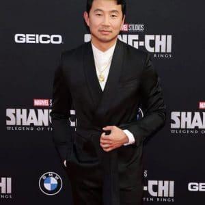 Simu Liu Shang-Chi and the Legend of the Ten Rings Preimer Black Blazer