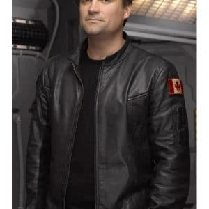 John Sheppard Stargate Atlantis Black Leather Jacket