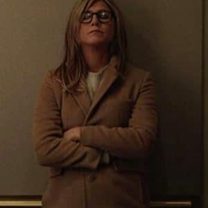 Alex Levy TV Series The Morning Show Brown Trench Coat