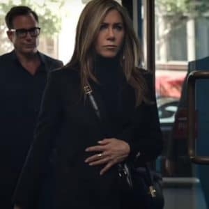 Alex Levy TV Series The Morning Show Season 02 Black Trench Coat