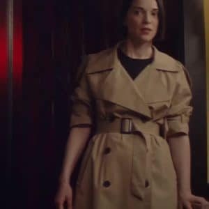 St. Vincent The Nowhere Inn 2021 Beige Trench Coat