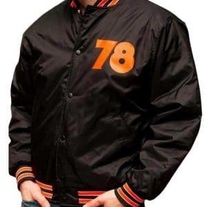 Men's Nylon Halloween 78 Bomber Jacket
