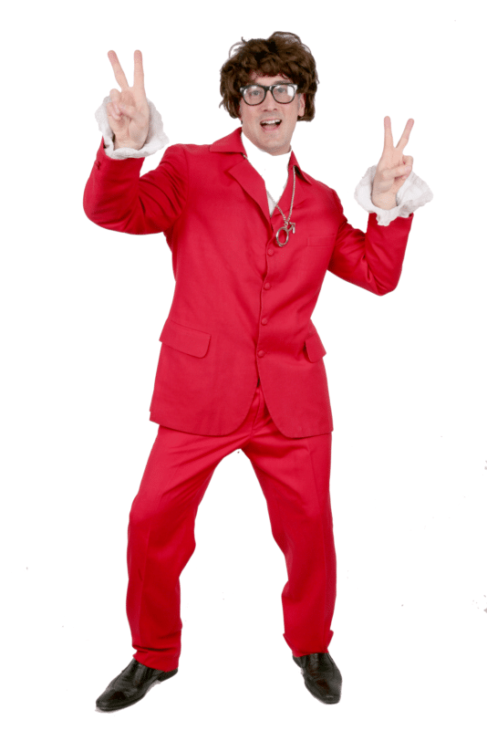 Mike Myers Austin Power Red Suit