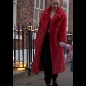 Ted Lasso Juno Temple Fur Coat