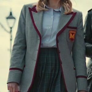Emma Mackey Sex Education S03 Maeve Wiley Uniform Blazer Jacket