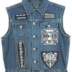 BLS Denim Blue Vest
