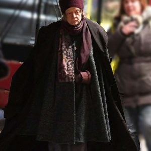 Maggie Smith A Boy Called Christmas Aunt Ruth Black Cloak