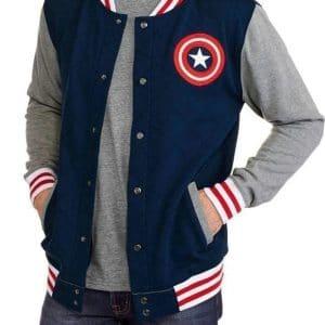 Captain-America-Blue-Varsity-Let